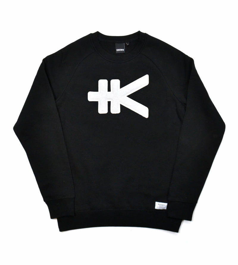 Yen Appliqué Sweat - Black