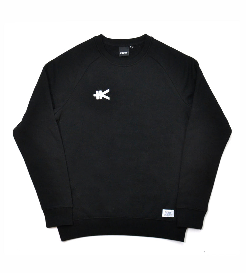 Yen Badge Sweat - Black