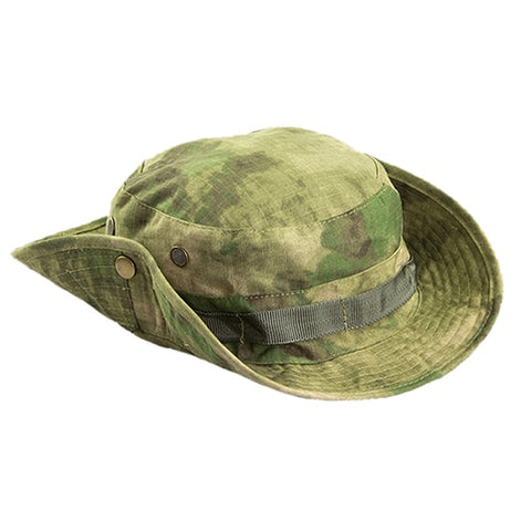 Casual Camouflage Print Tactical Sniper Bucket Boonie Hat