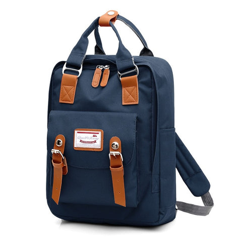 Multifunction Shoulder Canvas Laptop Bag Backpack