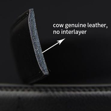 Genuine Leather Automatic Ratchet Buckle 110-130cm Long Belts For Men