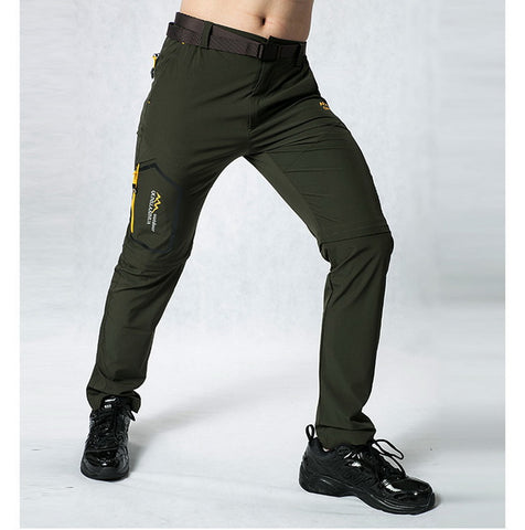 Casual Waterproof Stretch Quick Dry Hiking Trousers