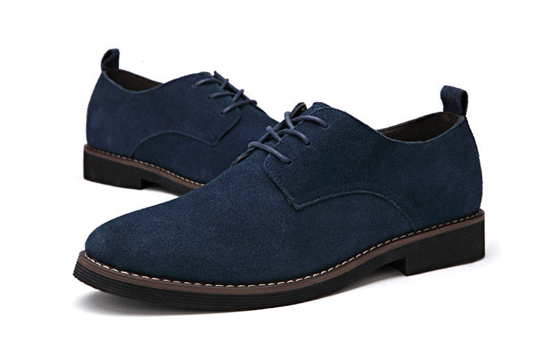 Casual Oxfords Suede Leather Breathable
