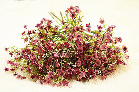 Luxury Babysbreath Plants Artificial Plastic Flowers For Home Decoration