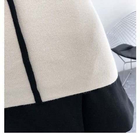 Korean Style Long Sleeve Turtleneck Women Bodycon Cashmere Pullovers