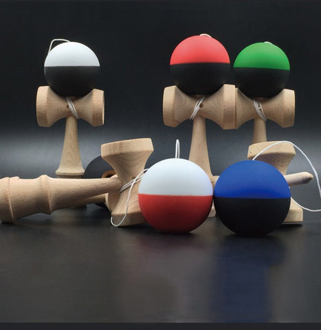 Wooden KENDAMA Ball String Professional leisure Outdoor Sports Toy for Kids