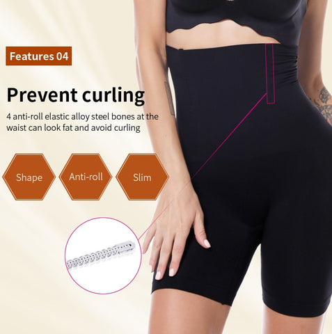 Women High Waist Slimming Tummy Control Knickers Shapewear Body Shaper