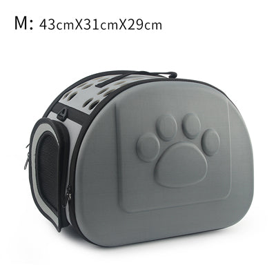 Portable Outdoor Foldable Travel EVA Pets Carrier Bag