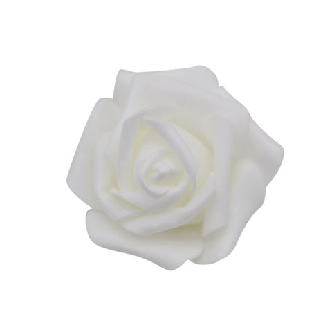 Flower Head 20pcs/lot Handmade 6cm Artificial PE Foam Roses For Decoration
