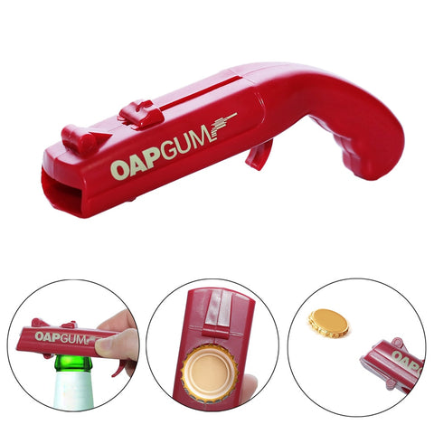 Colorful Portable Creative Flying Cap Opener Bar Tool