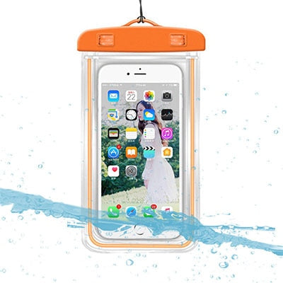 Transparent 3.5 -6 inch Universal Waterproof Case Phone Dry Bag