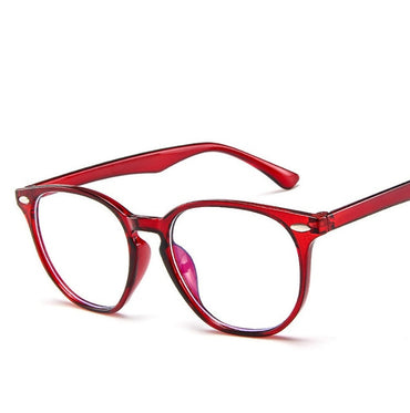 Anti Blue Light Computer Glasses Frame Men Women Transparent Gaming Glasses Frames Protection Eye Retro Spectacles Frames