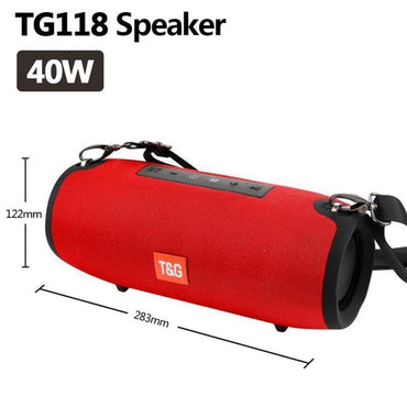 Waterproof Portable Column PC Computer 40W Bluetooth Speakers