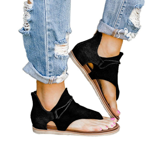 Anti-slip Hot Selling Wedges Summer Large Size Sandals for Women