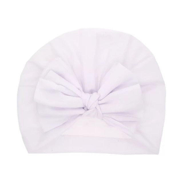 Lovely Winter Solid Color Thick Newborn Hat for Kids
