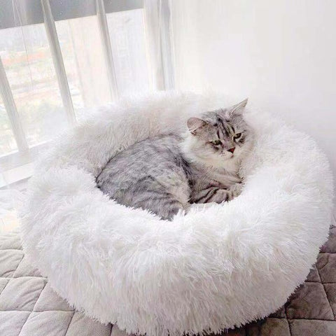 Round House Sleeping Bag Long Plush Winter Warm Kennel for Pets