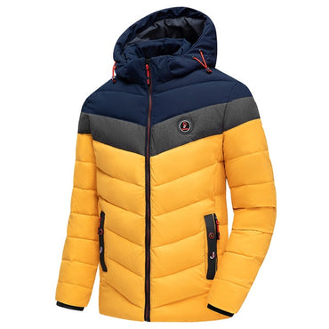 Casual Outwear Warm Thick Waterproof Parkas Jacket for Men