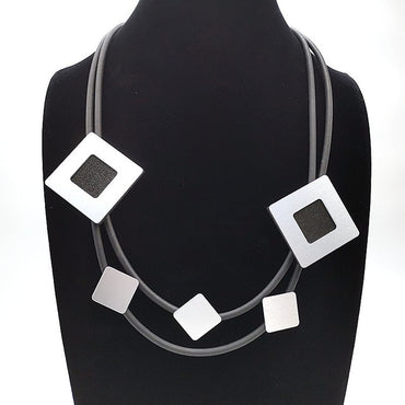 Fashion Punk Gothic Germany Rubber Necklace for Women