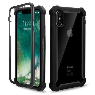 Shockproof Bumper Transparent Clear Phone Case For iPhone