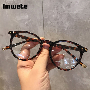 Fashionable Glasses Frame for Women Vintage Blue Light Computer Men Spectical Eyewear