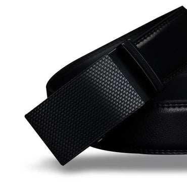 Genuine Leather Automatic Buckle Luxury High Quality Belts For Men