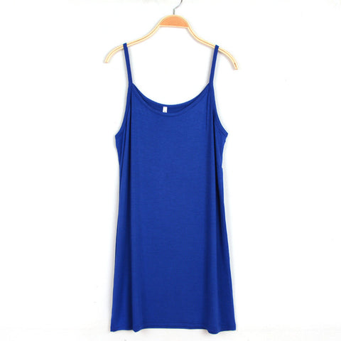 Summer Shoulder Straps Dress for Women