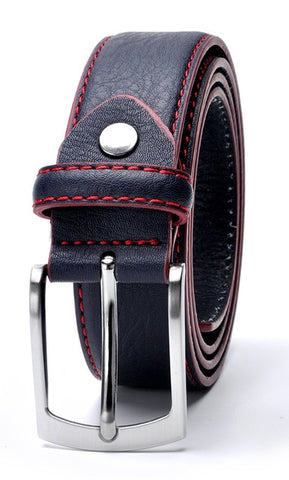 Casual Men's Split Leather Belts
