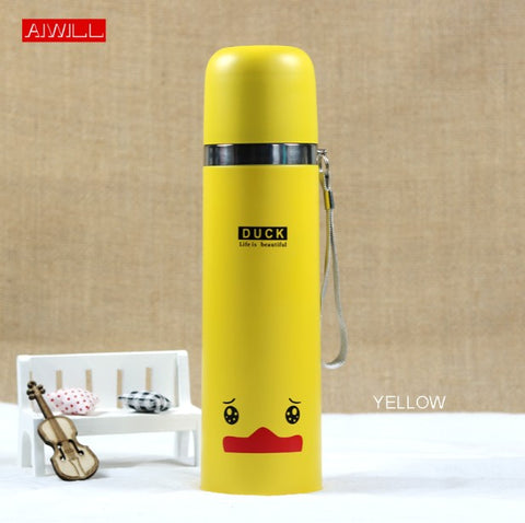 Lovely Animal Pattern Lovely Animal Pattern 500ML/350ml Vacuum Thermos For Women Kids