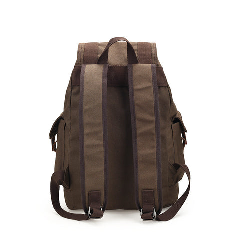 Unisex Canvas Softback Drawstring Backpacks