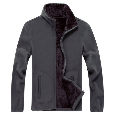 Men's Softshell Fleece Casual Warm Jackets