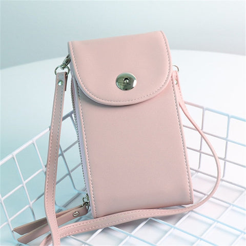 Casual Korean Style Small Crossbody Flap Shoulder Sling Bag