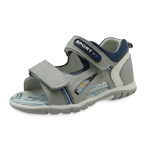 Genuine Leather Flat Orthopedic Toddler Kids Sandals