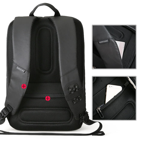 Large Capacity Multifunction USB Charging Laptop Backpack