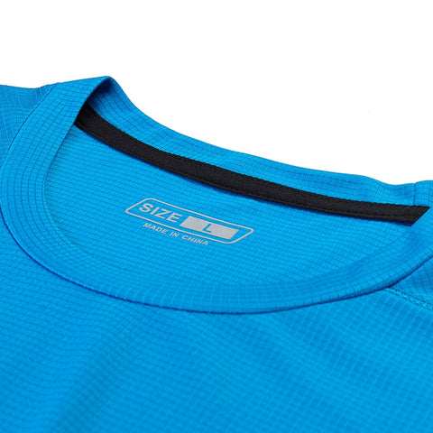 Casual Quick Dry Solid Color Slim Fit Gym Running T-Shirt