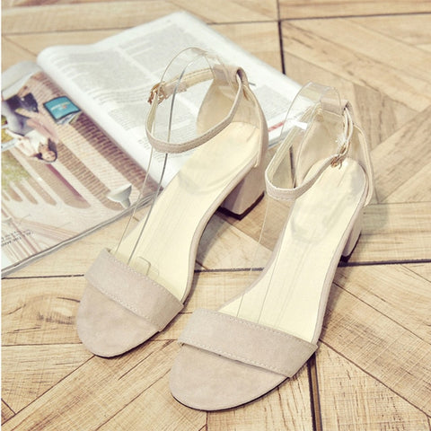 Simple Summer Sexy Fashionable Women's Cross Strap Sandals