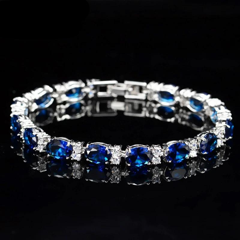 CZ Tennis Multi-color Crystal Bracelets