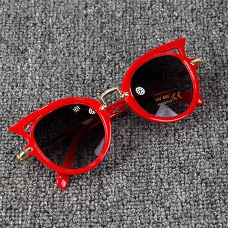 Cute Cat Eye UV Lens  Kid's Sunglasses