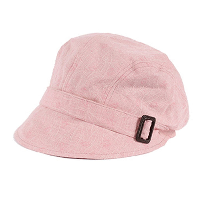 Summer Outdoor Casual Simple Cotton Women's Sun Hat