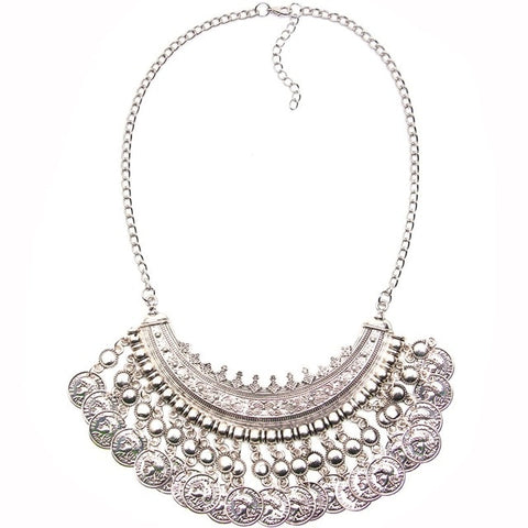 Collar Coin Vintage Boho Women's Necklace