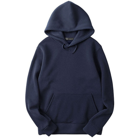 Solid Colors Hip Hop Fleeces Hoodies & Sweatshirt