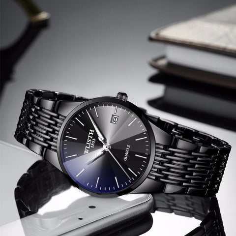 Waterproof Business Ultra-thin Quartz Wrist Watches