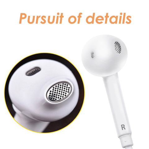 Wired In-Ear Universal Stereo Earphone with Mic