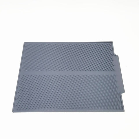 Silicone Square Dish Drying Heat Resistant Table Dishwasher Mat