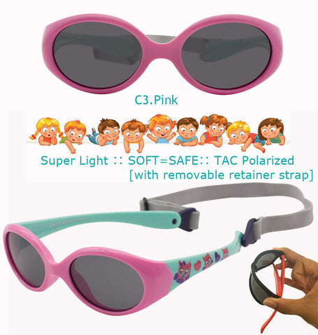 Little Baby Polarized Silicone Sunglasses