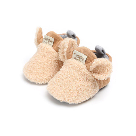 Winter Cotton Warm Soft Sole Plush Prewalker Girl Snow Boots
