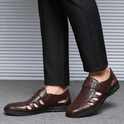 Casual Leather Outdoor Men Sandals