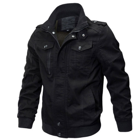 Military Style Light Breathable Men's Bomber Jacket
