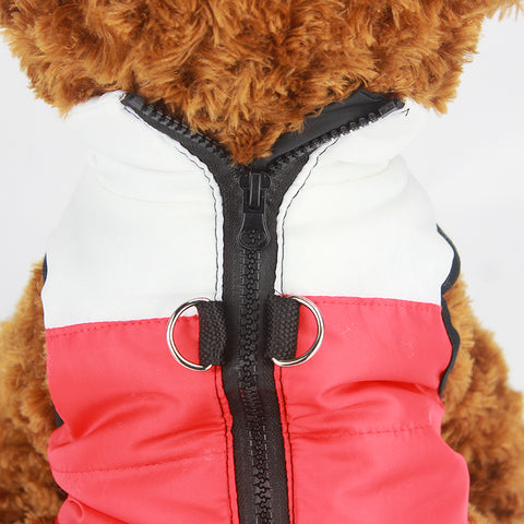 Warm  Windproof Padded Coat for small pet dogs