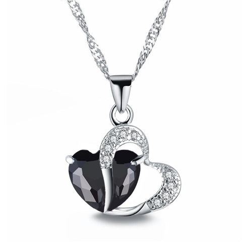 Heart Shaped Crystal Fashion Pendant
