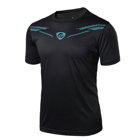 Casual Short Sleeve Breathable Round Neck Workout T-Shirt